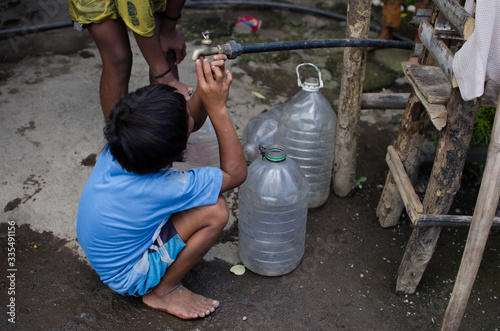 Fotografie, Tablou No water pouring