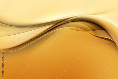 Fototapeta Modern wave abstract luxury gold background.  obraz na płótnie