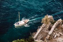 Ship Near Aragonese Castle, Is...