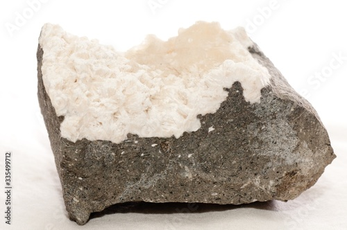 A mesolite mineral sample Canvas Print