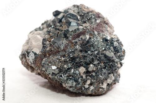 A hematite mineral sample Canvas Print