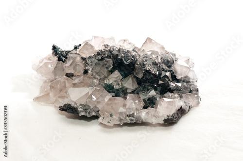 Valokuva A stilbite mineral sample