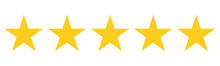 5 Star Rating Reviw With Five ...