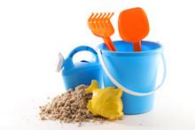 Beach Toys, Sand Bucket, Shove...