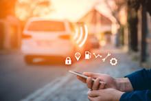 Intelligent Car App On Smart P...