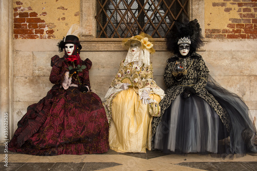 Fotografia, Obraz Carnevale a Venezia