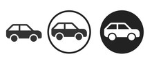 Car Icon . Web Icon Set .vecto...