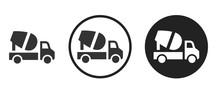 Cement Mixer Icon . Web Icon S...
