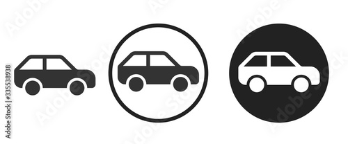 Obraz car icon . web icon set .vector illustration	 - fototapety do salonu