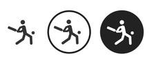 Cricket Icon . Web Icon Set .v...