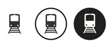 Train Icon . Web Icon Set .vector Illustration