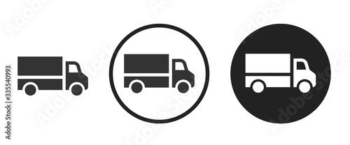 Fotografía truck icon . web icon set .vector illustration
