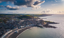 Aerial View Of Aberystwyth Tow...
