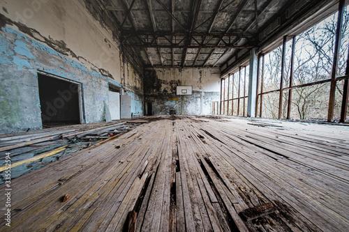 Fotografía Decaying gym in Chernobyl/Pripyat Exclusion Zone