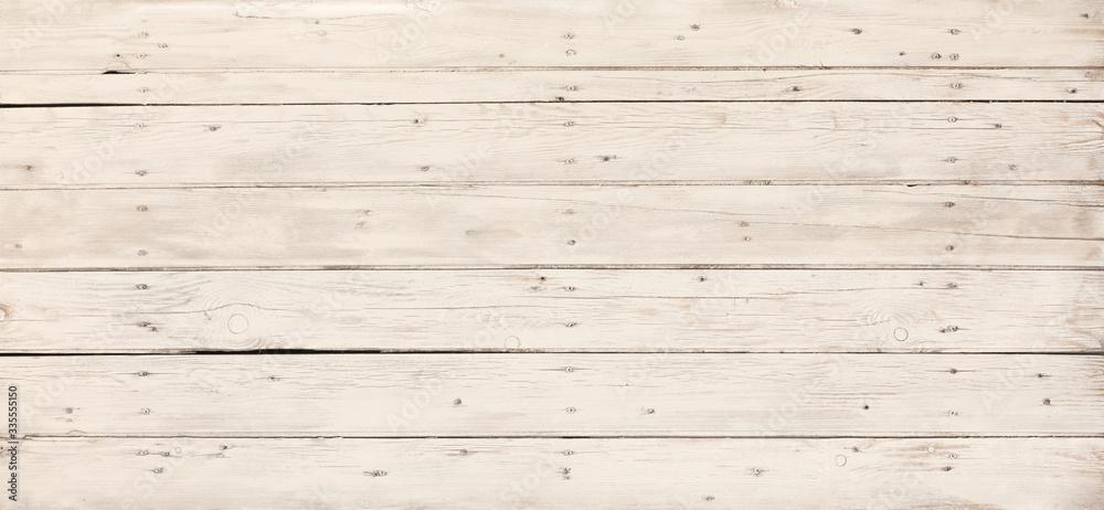 Fototapeta freshly painted white wooden surface