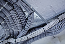 Network Cables Neatly Loomed I...
