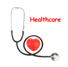 Stethoscope With Red Heart Iso...