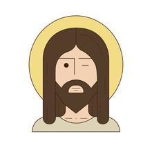 He Is Risen. Jesus Icon