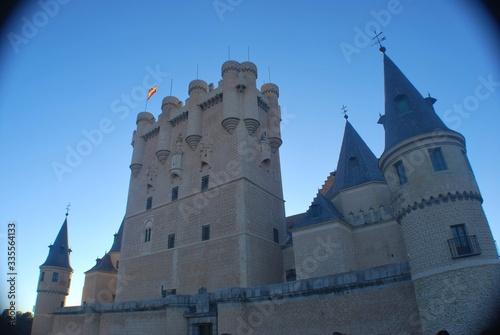 Fotomural alcaar de segovia, castillo, segovia, torre, arquitectura, edificio, europa, med