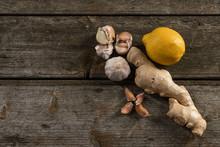 Garlic, Lemon, Ginger, Folk Re...