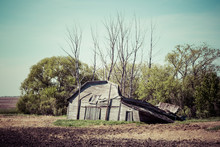 Old Barn Falling Down