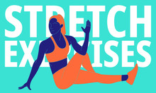 Illustration Of Stretchingstretching Exercises To Relieve Lower Back Pain