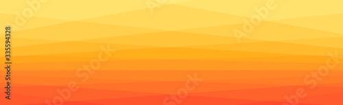 Obrazy pomarańczowe  yellow-to-orange-transition