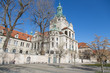 München, Deutschland: Das Bayerische Nationalmuseum mit europäischer Kunst und Sammlungen Schätzen der Wittelsbacher