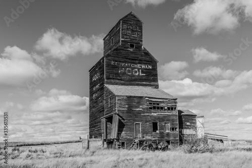 Fotografía Vintage Grain Elevator