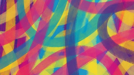 abstract colorful background with stripes
