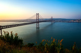 Most 25 Kwietnia, Lizbona, Portugalia