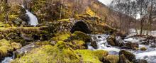 Stunning Natural Waterfall, Highlands, Scotland