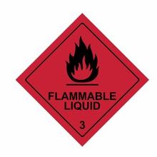 Flammable Liquid Sign Vector D...