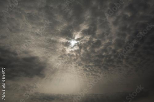 Fényképezés clouds in the sky
