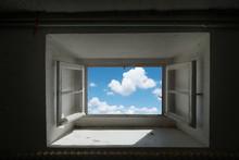 Fenêtre Ouverture Nuage Ciel ...