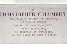 Christopher Columbus Plaque, C...
