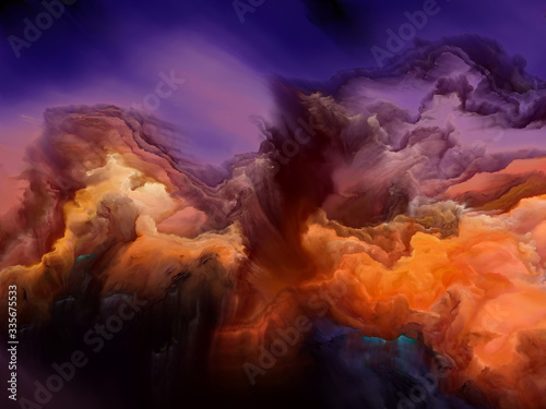 Obraz Synergies of Cloudscape - fototapety do salonu