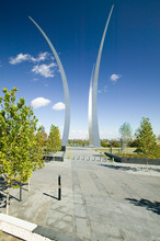 Air Force Memorial With Three ...