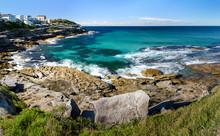 Panorama Photo Of MacKenzies Beach, Sydney Australia