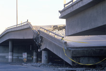 Overpass That Collapsed On Hig...