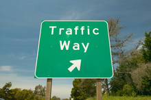 A Interstate Highway Sign On R...