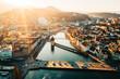 Lucerne, Switzerland Sunset and River