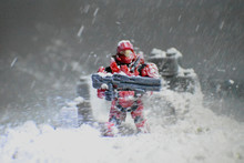 Halo Spartan In The Snow