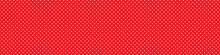 White Dots On A Red Background...