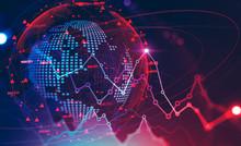 Global Financial Crisis Concept, Stock Market