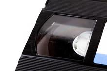 Vintage Old Black Vhs Cassette...