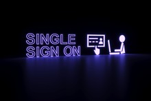 SINGLE SIGN ON Neon Concept Se...