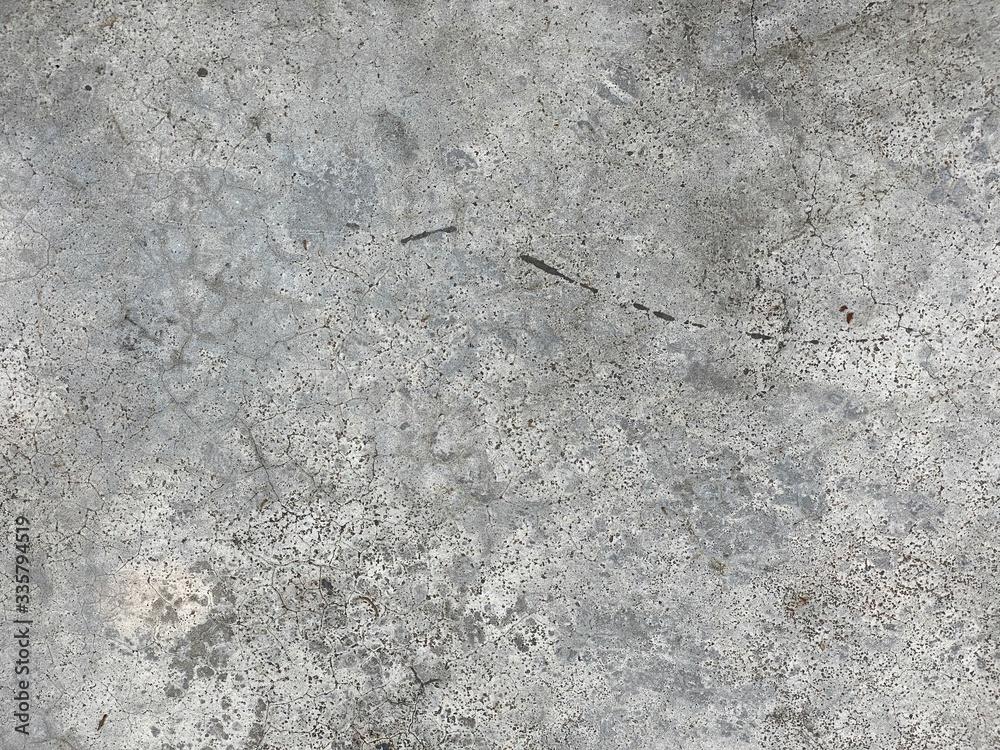 Fototapeta Old grey concrete. Background or texture.