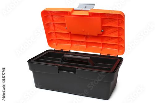 Fototapeta Plastic tool box obraz na płótnie
