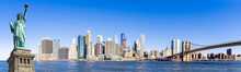 Panorama Lower Manhattan New Y...